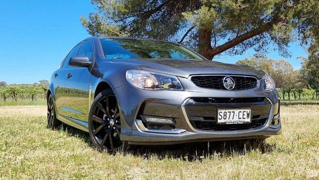 Used Holden Commodore VF II MY17 SV6 Nuriootpa, 2017 Holden Commodore VF II MY17 SV6 Grey 6 Speed Sports Automatic Sedan