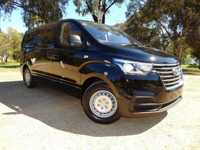 Used Hyundai iLOAD TQ4 MY19 Morphett Vale, 2018 Hyundai iLOAD TQ4 MY19 Timeless Black Mica/ 5 Speed Automatic Van
