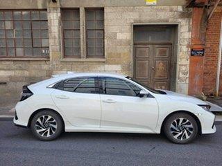 2018 Honda Civic 10th Gen MY18 VTi-S White Orchid 1 Speed Constant Variable Sedan.