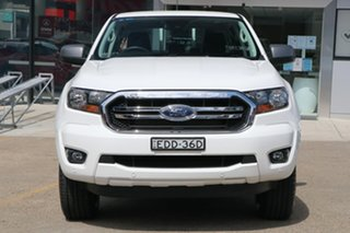 2019 Ford Ranger PX MkIII 2020.25MY XLS White 6 Speed Sports Automatic Double Cab Pick Up