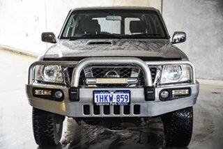 2012 Nissan Patrol Y61 GU 8 ST Silver, Chrome 4 Speed Automatic Wagon