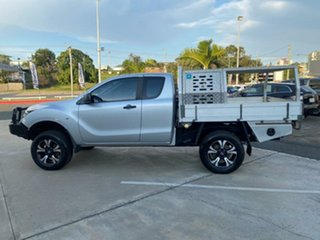 2012 Mazda BT-50 UP0YF1 XT Freestyle Silver 6 Speed Manual Cab Chassis