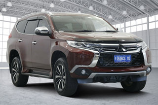 2018 Mitsubishi Pajero Sport QE MY18 Exceed Red 8 Speed Sports Automatic Wagon.