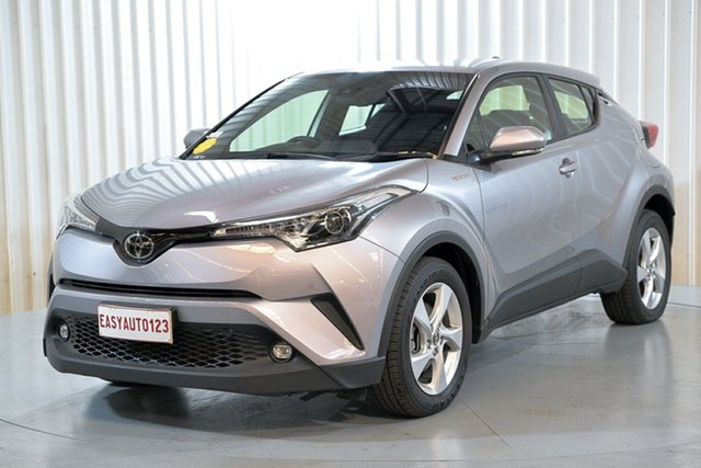 Used Toyota C-HR NGX10R S-CVT 2WD Hendra, 2019 Toyota C-HR NGX10R S-CVT 2WD Silver 7 Speed Constant Variable Wagon