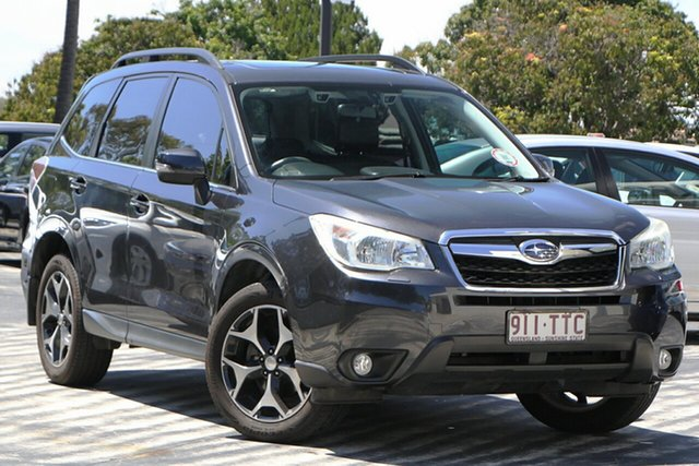 Used Subaru Forester S4 MY14 2.5i-S Lineartronic AWD North Lakes, 2014 Subaru Forester S4 MY14 2.5i-S Lineartronic AWD Grey 6 Speed Constant Variable Wagon