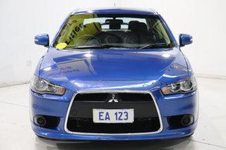 2015 Mitsubishi Lancer CJ MY15 XLS Blue 6 Speed Constant Variable Sedan.
