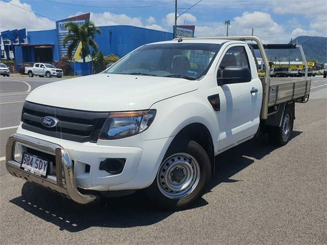 Used Ford Ranger PX XL Bungalow, 2011 Ford Ranger PX XL White 6 Speed Manual Cab Chassis