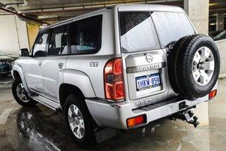 2012 Nissan Patrol Y61 GU 8 ST Silver, Chrome 4 Speed Automatic Wagon.