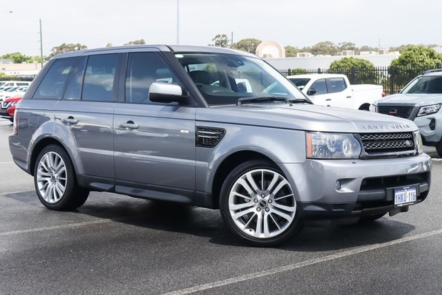 Used Land Rover Range Rover Sport L320 12MY SDV6 Wangara, 2012 Land Rover Range Rover Sport L320 12MY SDV6 Grey 6 Speed Sports Automatic Wagon