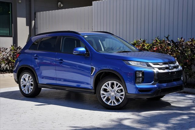 New Mitsubishi ASX XD MY21 ES Plus 2WD Cairns, 2021 Mitsubishi ASX XD MY21 ES Plus 2WD Lightning Blue 1 Speed Constant Variable Wagon