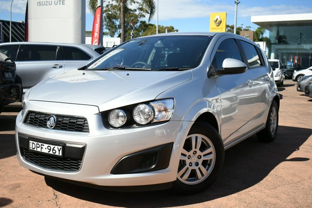 Used Holden Barina TM MY16 CD Brookvale, 2016 Holden Barina TM MY16 CD Silver 6 Speed Automatic Hatchback