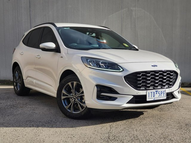 Used Ford Escape ZH 2020.75MY ST-Line Oakleigh, 2020 Ford Escape ZH 2020.75MY ST-Line White 8 Speed Sports Automatic SUV
