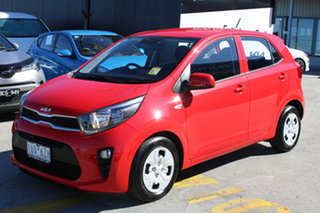 2021 Kia Picanto JA MY22 S Signal Red 4 Speed Automatic Hatchback.