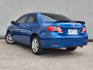 2011 Toyota Corolla ZRE152R MY11 Ascent Sport Blue 4 Speed Automatic Sedan.
