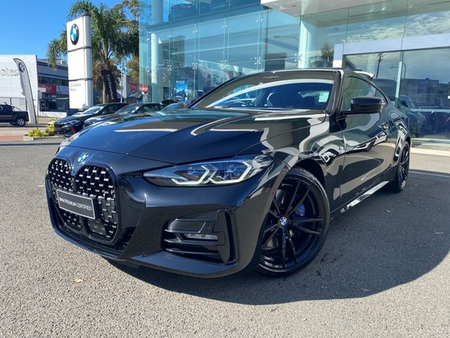 Used BMW 430i G22 M Sport Brookvale, 2020 BMW 430i G22 M Sport Black Sapphire 8 Speed Auto Steptronic Sport Coupe