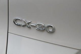 2021 Mazda CX-30 DM2W7A G20 SKYACTIV-Drive Pure Snowflake White Pearl 6 Speed Sports Automatic Wagon