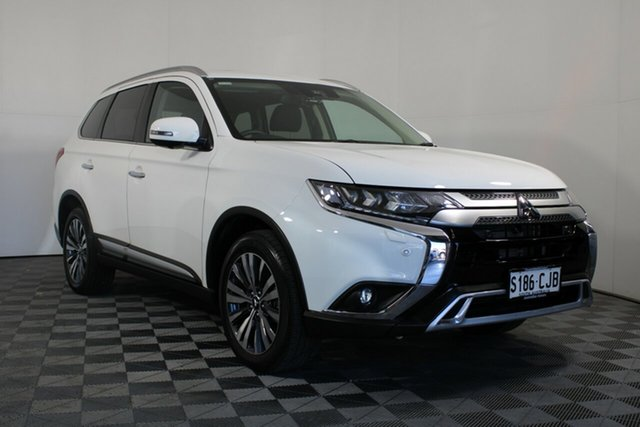 Used Mitsubishi Outlander ZL MY21 Exceed AWD Wayville, 2020 Mitsubishi Outlander ZL MY21 Exceed AWD White 6 Speed Constant Variable Wagon