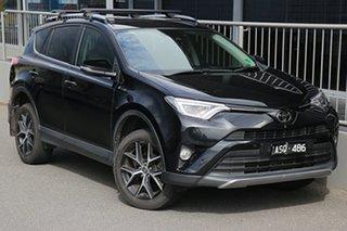 2017 Toyota RAV4 ZSA42R GXL 2WD Black 7 Speed Constant Variable Wagon.