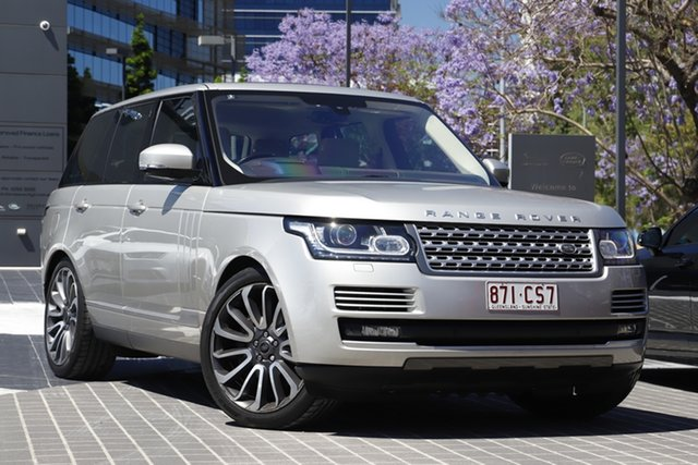 Used Land Rover Range Rover L405 16MY SDV8 Vogue Newstead, 2015 Land Rover Range Rover L405 16MY SDV8 Vogue Aruba 8 Speed Sports Automatic Wagon
