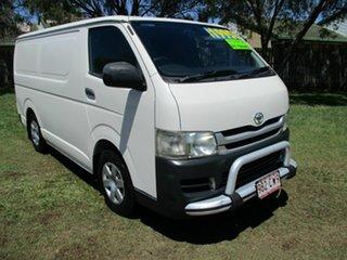 2009 Toyota HiAce TRH201R MY08 LWB White 4 Speed Automatic Van.