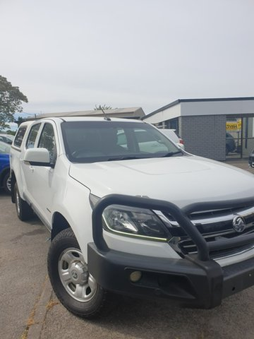 Used Holden Colorado RG MY17 LS Pickup Crew Cab Hillcrest, 2017 Holden Colorado RG MY17 LS Pickup Crew Cab White 6 Speed Sports Automatic Utility