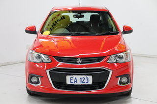 2016 Holden Barina TM MY17 LS Red 6 Speed Automatic Hatchback.