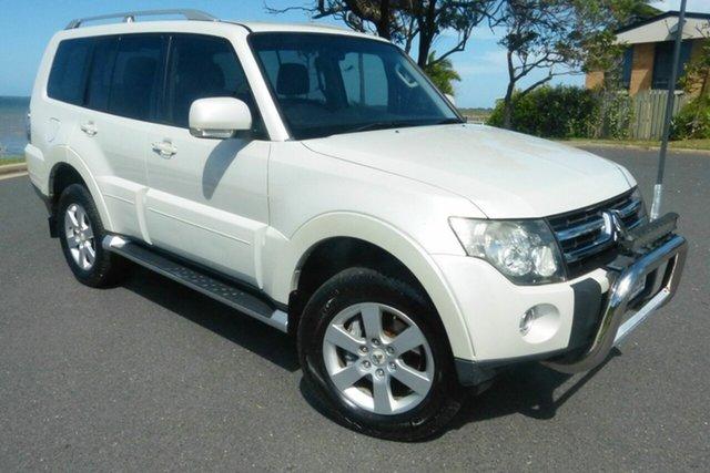 Used Mitsubishi Pajero NS VR-X Gladstone, 2007 Mitsubishi Pajero NS VR-X White 5 Speed Sports Automatic Wagon