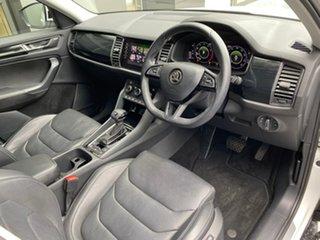 2020 Skoda Kodiaq NS MY20.5 132TSI DSG White 7 Speed Sports Automatic Dual Clutch Wagon