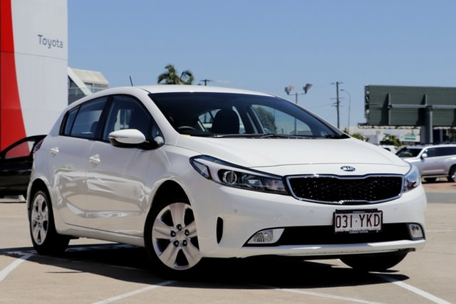 Pre-Owned Kia Cerato YD MY18 S Albion, 2018 Kia Cerato YD MY18 S White 6 Speed Sports Automatic Hatchback