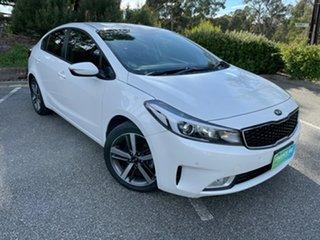 2017 Kia Cerato YD MY17 Sport White 6 Speed Sports Automatic Sedan.