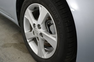 2010 Toyota Corolla ZRE152R Conquest Light Blue 4 Speed Automatic Sedan