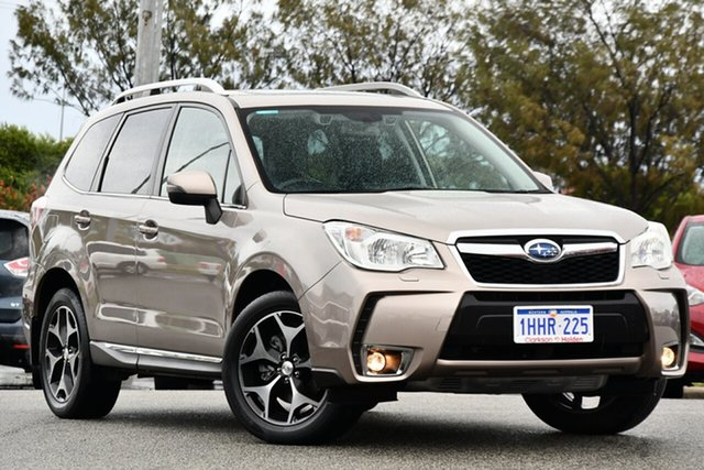 Used Subaru Forester S4 MY15 XT CVT AWD Premium Clarkson, 2015 Subaru Forester S4 MY15 XT CVT AWD Premium Bronze 8 Speed Constant Variable Wagon