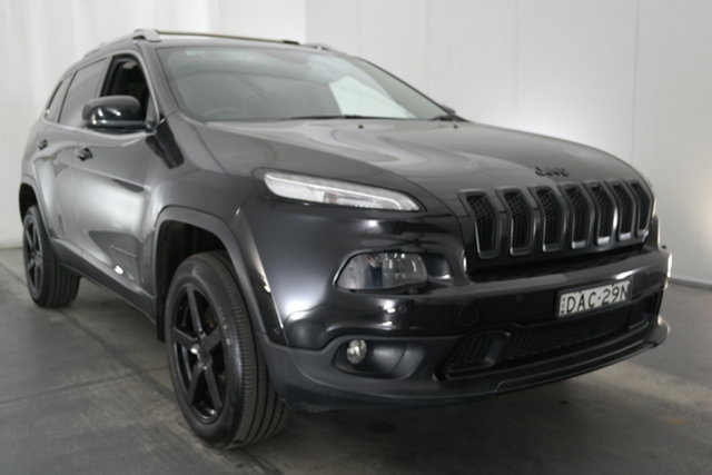 Used Jeep Cherokee KL MY15 Limited Maryville, 2015 Jeep Cherokee KL MY15 Limited Black 9 Speed Sports Automatic Wagon
