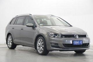 2016 Volkswagen Golf VII MY17 110TSI DSG Highline Limestone Grey 7 Speed