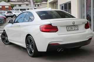 2017 BMW 2 Series F22 230i M Sport White 8 Speed Sports Automatic Coupe.