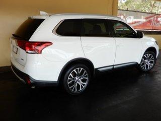 2018 Mitsubishi Outlander ZL MY19 LS 7 Seat (AWD) White 6 Speed Automatic Wagon.