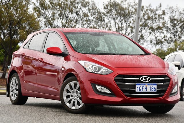 Used Hyundai i30 GD4 Series II MY17 Active Clarkson, 2016 Hyundai i30 GD4 Series II MY17 Active Red 6 Speed Sports Automatic Hatchback