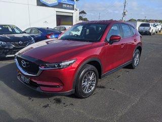 2018 Mazda CX-5 KF4WLA Maxx SKYACTIV-Drive i-ACTIV AWD Sport Soul Red 6 Speed Sports Automatic Wagon.