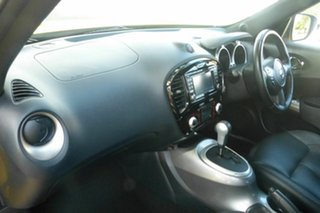 2015 Nissan Juke F15 Series 2 Ti-S X-tronic AWD Yellow 1 Speed Constant Variable Hatchback