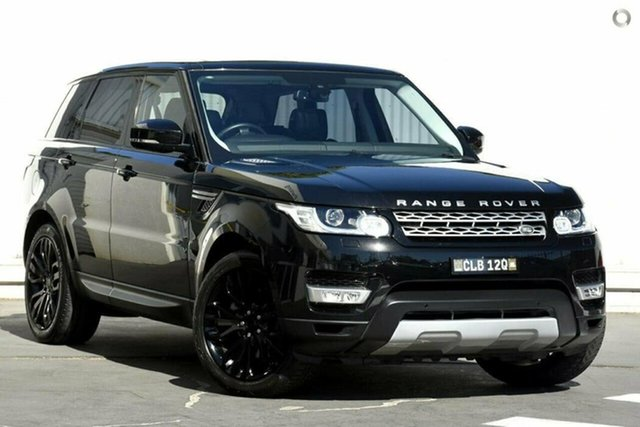 Used Land Rover Range Rover Sport L494 16MY HSE Wollongong, 2015 Land Rover Range Rover Sport L494 16MY HSE Black 8 Speed Sports Automatic Wagon