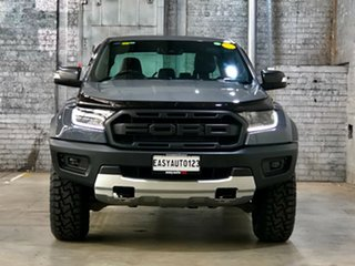 2018 Ford Ranger PX MkIII 2019.00MY Raptor Grey 10 Speed Sports Automatic Utility.