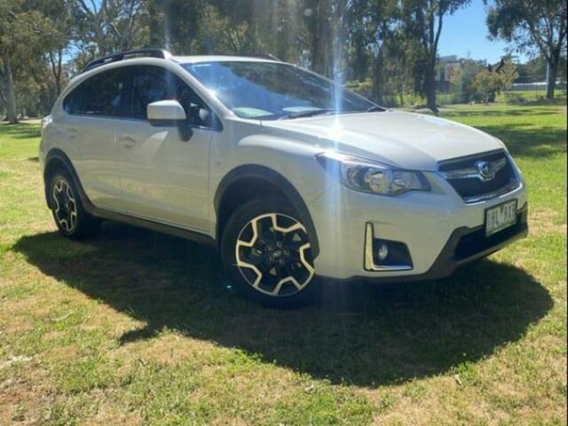 Used Subaru XV MY16 2.0I-L Wangaratta, 2016 Subaru XV MY16 2.0I-L Crystal White Pearl Continuous Variable Wagon