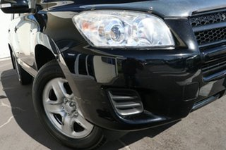 2012 Toyota RAV4 ACA38R MY12 CV 4x2 Black 4 Speed Automatic Wagon.