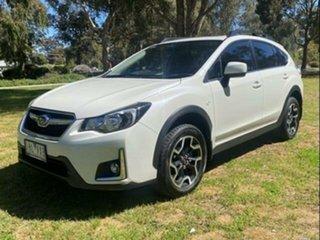 2016 Subaru XV MY16 2.0I-L Crystal White Pearl Continuous Variable Wagon.