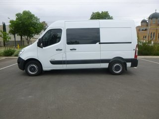 2016 Renault Master X62 White Sports Automatic Single Clutch Van.