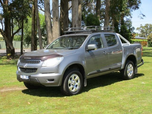Used Holden Colorado LS Timboon, 2015 Holden Colorado RG Turbo LS Grey Automatic Utility