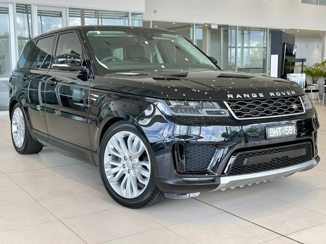 Used Land Rover Range Rover Sport L494 19.5MY SE Essendon Fields, 2019 Land Rover Range Rover Sport L494 19.5MY SE Black 8 Speed Sports Automatic Wagon