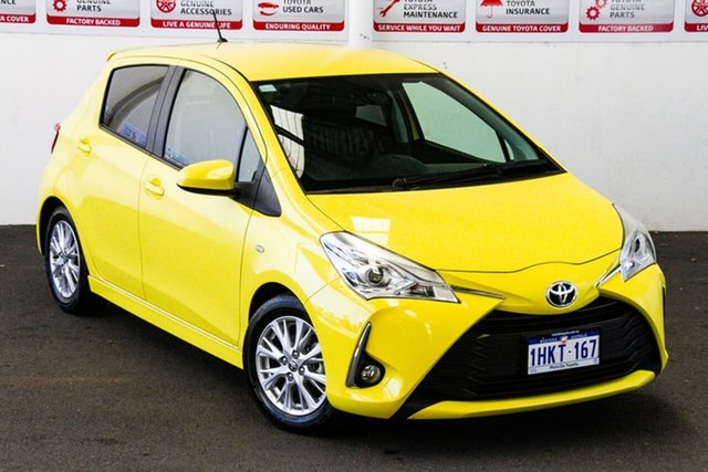 Pre-Owned Toyota Yaris NCP131R ZR Myaree, 2017 Toyota Yaris NCP131R ZR Tuscan Gold 4 Speed Automatic Hatchback