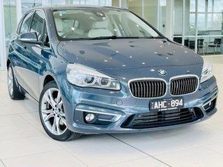 2015 BMW 2 Series F45 220i Active Tourer Steptronic Luxury Line Grey 8 Speed Automatic Hatchback.