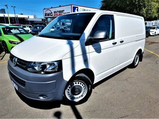 2012 Volkswagen Transporter T5 MY12 TDI250 SWB Runner White 5 Speed Manual Van.